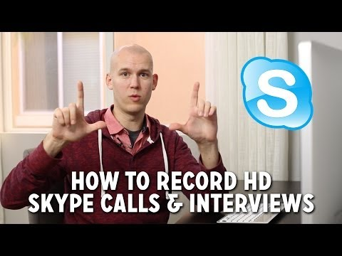 How to Record HD Skype Calls & Interviews
