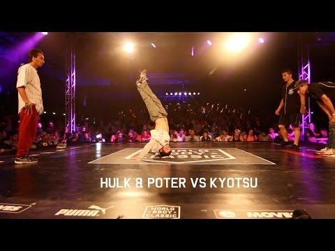 World BBoy Classic 2014 | Hulk & Poter vs Kyotsu