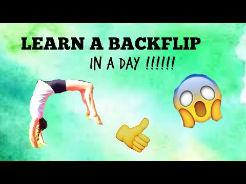 Back handspring tutorial/ learn a back handspring in just 1 day !!