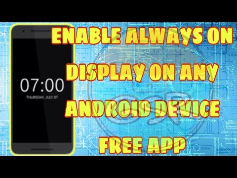 Coolest App - Always on Display on Any Android Device | Hindi | GSR