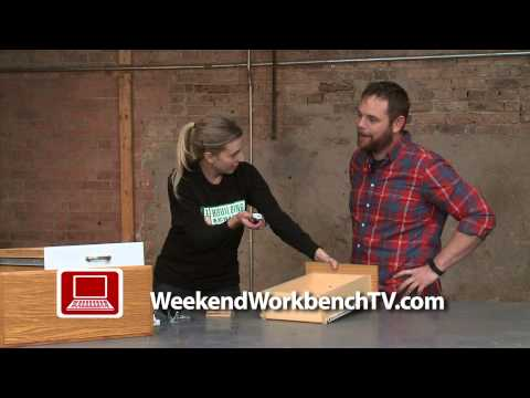Create Underbed Storage from an Old Drawer