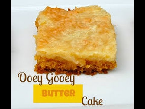 OOEY GOOEY BUTTER CAKE (PAULA DEEN STYLE) E1 OF THE WEEKLY PIN