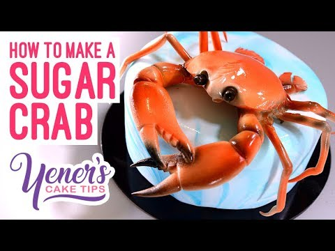 How to Make a SUGAR CRAB Tutorial | Yeners Cake Tips with Serdar Yener from Yeners Way