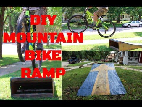 DIY MOUNTAIN BIKE RAMP