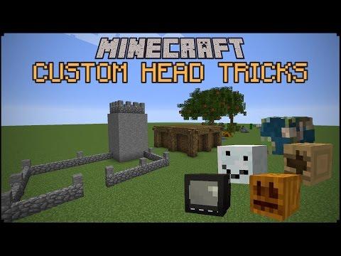 Minecraft: Custom Head Tricks!