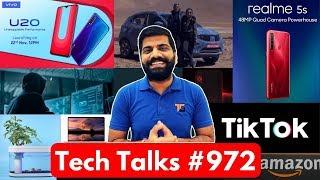 "Tech Talks #972 - Redmi K30 5G, Realme 5S Specs, Galaxy A01 Leaks, New MacBook Pro 16"", TikTok"