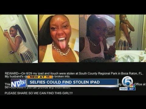 Selfies could find stolen iPad