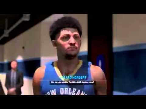 NBA 2k15 PS4 My Career Shoe Deal talks(nike or Jordan)