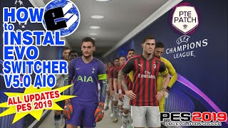 PES 2019 How to install GFX Mod v4 and all updates - PakVim