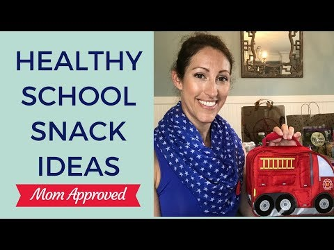 Healthy Snack Lunchbox Ideas for Toddlers, Kids and Teens | Healthy School Lunch Ideas
