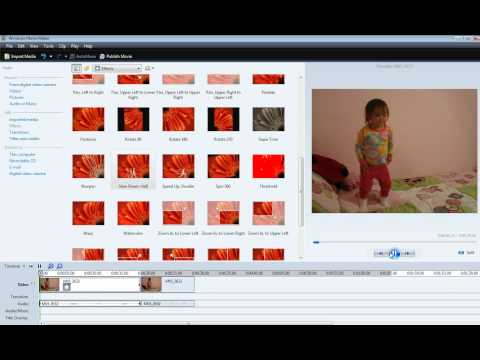 Slow down and speed up clips using Windows Movie Maker
