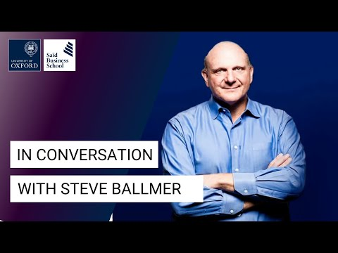 watch Steve Ballmer: Microsoft and my passion for business