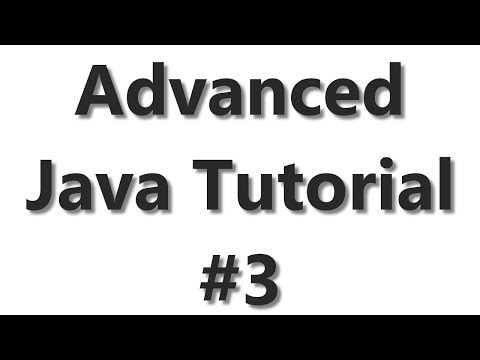 Advanced Java Tutorial #3 - Text To Speech