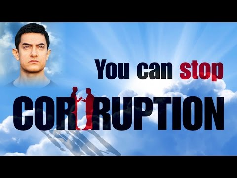 How to Stop Corruption in India by Aamir Khan Speech