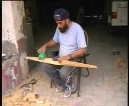 How to make wooden propeller
