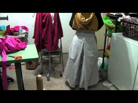 Tutorials: completing Hakama pant and Skip Beat collar