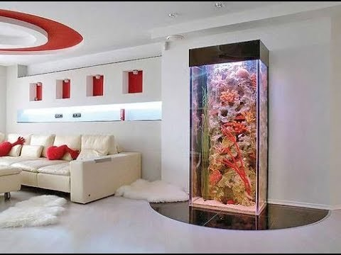 Cool & Creative Aquarium Fish Tanks Decorations Designs Ideas