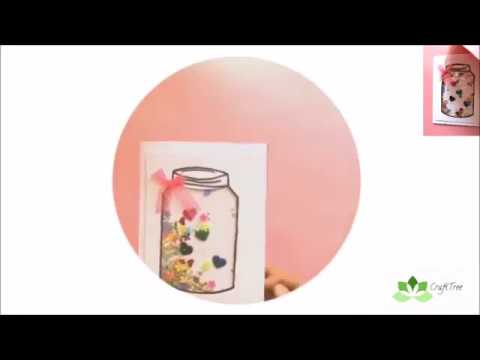 DIY simple and easy Shaker Card tutorial (Part - 1)