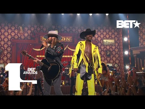 Xxx Mp4 Lil Nas X Amp Billy Ray Cyrus Bring The Old Town Road To The BET Awards Live BET Awards 2019 3gp Sex