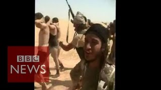 Syria conflict: Islamic State militants
