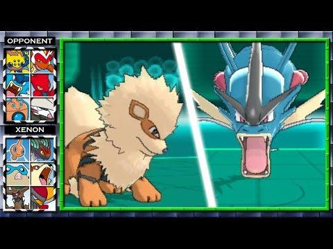 Mega Gyarados vs Double Status Arcanine! (Pokemon X and Y Wifi Battle) #26 Xenon3120 vs Shin-Kuma