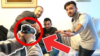 HE FOUND OUR GUN! (PRANK GONE WRONG)