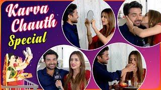 Smriti Khanna Fasts For Hubby Gautam Gupta | Karva Chauth Special