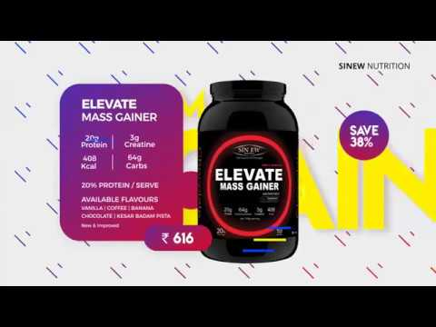 Sinew Nutrition - Sports Supplements  Catalog 2018