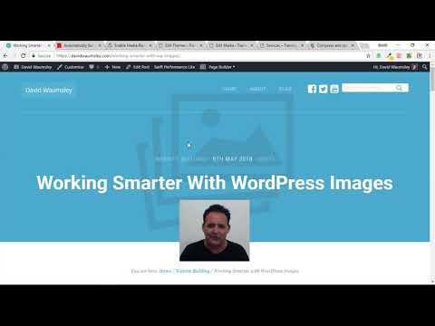 Working Smarter with WordPress Images