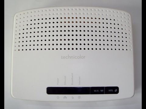 Technicolor TG582n: Configure as a Wireless Access Point and as a Wireless Router