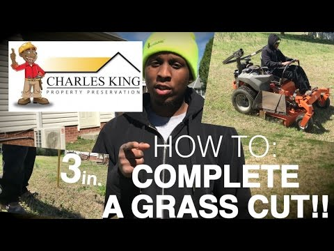 Property Preservation - How To Complete A Property Preservation Grass Cut