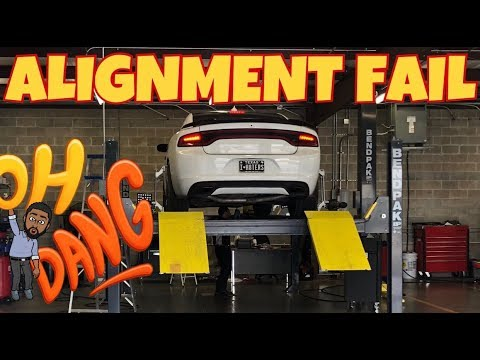 MY DODGE CHARGER ALIGNMENT IS HORRIBLE