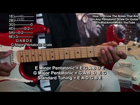 How To Know Every Note In Every Pentatonic Scale In Any Key On Guitar Immediately