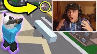 INSANE ACROSS THE MAP TRICKSHOT! (Roblox Knife Simulator)