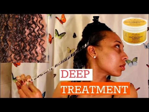 NATURAL HAIR| Shea Moisture: Deep Treatment Masque| RESULTS!!