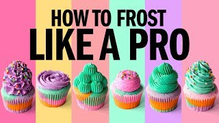 Download How to FROST cupcakes LIKE A PRO! - The Scran Line Video