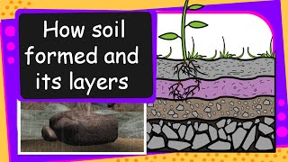 Science - Soil Formation and soil layers - English