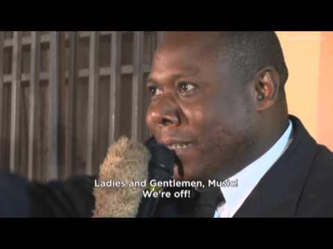 Sapeur contest Kinshasa