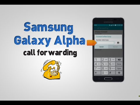 Samsung Galaxy Alpha (G850A) call forwarding