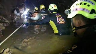 Final Thailand cave survivors taken to hospital