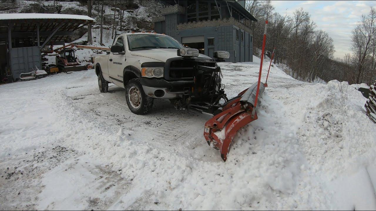 Plow truck maintenance