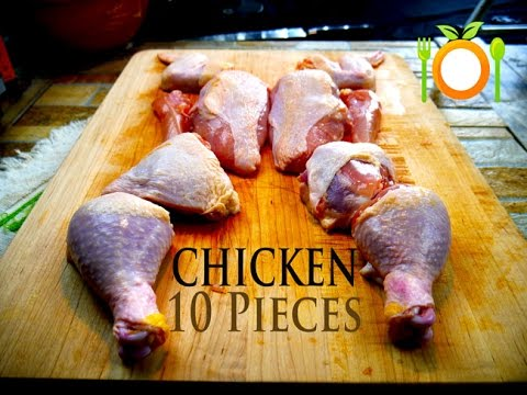 Cutting Whole Chicken Into 10 Pieces or MORE? Tips For Success & Safety