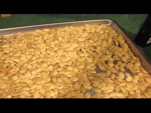 Italian Seasoned Roasted Pumpkin Seed Recipe