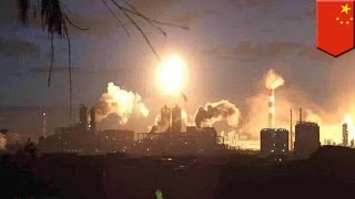 Chemical plant explosion and fire: China factory bursts into flames, injuring 3 people
