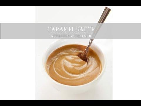 Raw Caramel Sauce ( & Caramel Dip) | Vegan, Paleo