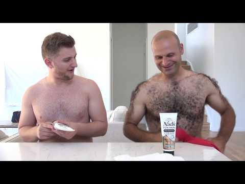 Real Men. Real Hair. Taking it Off! How to Use Nad's For Men Hair Removal Cream