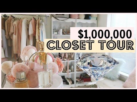MILLION DOLLAR CLOSET TOUR & selling clothes!