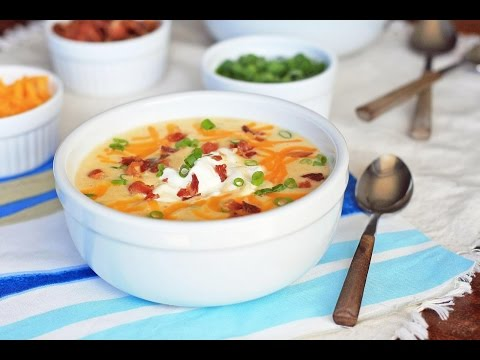(MUST HAVE)Loaded Potato Cheese Soup