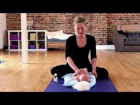 Baby Massage for calming and soothing
