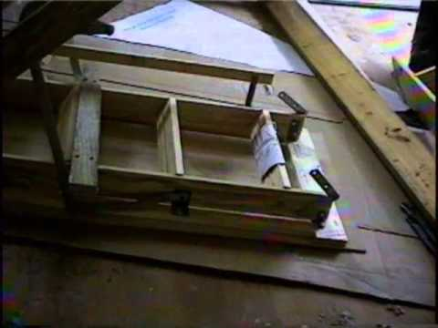 Attic stairs part 2 how to install